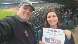 Michael attended Colorado Rockies vs. San Francisco Giants - MLB on May 7th 2019 via VetTix