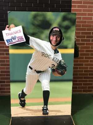 Brandon attended Colorado Rockies vs. San Francisco Giants - MLB on May 7th 2019 via VetTix