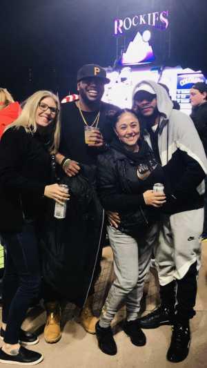 Kenneth attended Colorado Rockies vs. San Francisco Giants - MLB on May 7th 2019 via VetTix