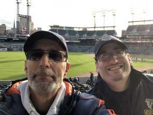 Howard attended Detroit Tigers vs. Los Angeles Angels - MLB on May 7th 2019 via VetTix