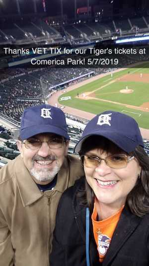 Bruce Daniels attended Detroit Tigers vs. Los Angeles Angels - MLB on May 7th 2019 via VetTix