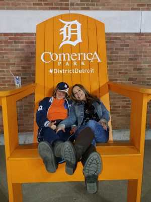 Christopher attended Detroit Tigers vs. Los Angeles Angels - MLB on May 7th 2019 via VetTix