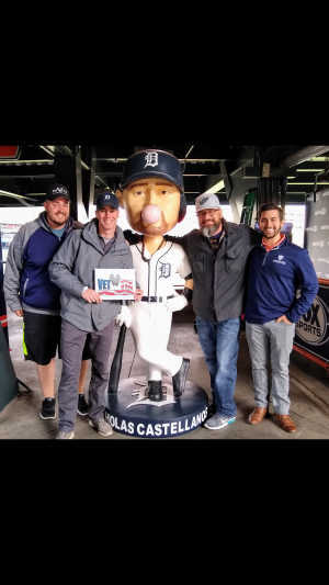 Anthony attended Detroit Tigers vs. Los Angeles Angels - MLB on May 7th 2019 via VetTix