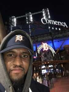 Hodari attended Detroit Tigers vs. Houston Astros - MLB on May 13th 2019 via VetTix