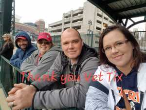 JoAnn attended Detroit Tigers vs. Houston Astros - MLB on May 13th 2019 via VetTix