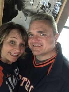 Frederick attended Detroit Tigers vs. Houston Astros - MLB on May 13th 2019 via VetTix