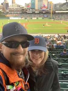 Joseph  attended Detroit Tigers vs. Houston Astros - MLB on May 13th 2019 via VetTix