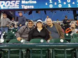 William attended Detroit Tigers vs. Miami Marlins - MLB on May 21st 2019 via VetTix