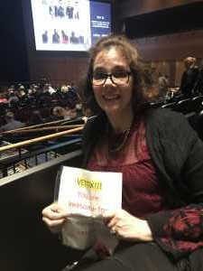 Kara attended Cruel Intentions - The 90's Musical on May 1st 2019 via VetTix
