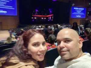 Carlos attended Cruel Intentions - The 90's Musical on May 1st 2019 via VetTix