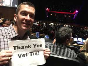 Justin attended Cruel Intentions - The 90's Musical on May 1st 2019 via VetTix