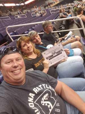 Mark and Heather Bullard attended Arizona Rattlers vs. Tucson Sugar Skulls - IFL on Jun 8th 2019 via VetTix