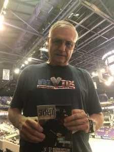William attended Arizona Rattlers vs. Tucson Sugar Skulls - IFL on Jun 8th 2019 via VetTix