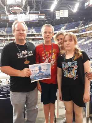 Bruce attended Arizona Rattlers vs. Tucson Sugar Skulls - IFL on Jun 8th 2019 via VetTix