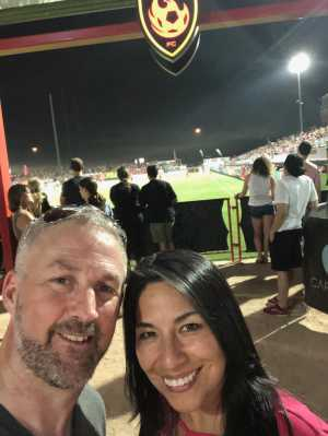 Brian attended Phoenix Rising vs Orange County SC - USL on Jun 15th 2019 via VetTix