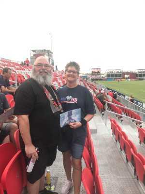 Trevor attended Phoenix Rising vs. El Paso Locomotive - USL on Aug 10th 2019 via VetTix