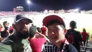 Joseph attended Phoenix Rising vs. El Paso Locomotive - USL on Aug 10th 2019 via VetTix