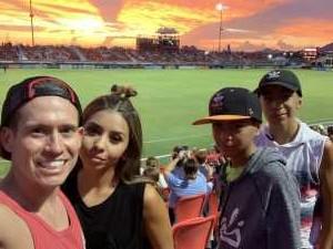 chris attended Phoenix Rising vs. El Paso Locomotive - USL on Aug 10th 2019 via VetTix