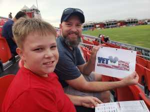 Dennis attended Phoenix Rising vs. El Paso Locomotive - USL on Aug 10th 2019 via VetTix