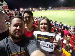 David attended Phoenix Rising vs. El Paso Locomotive - USL on Aug 10th 2019 via VetTix