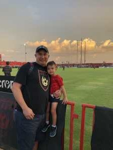 Michael attended Phoenix Rising vs. El Paso Locomotive - USL on Aug 10th 2019 via VetTix