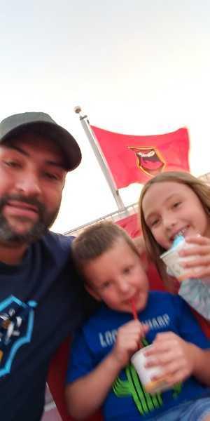 James attended Phoenix Rising vs. El Paso Locomotive - USL on Aug 10th 2019 via VetTix