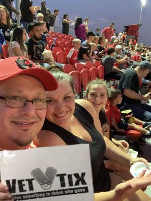 Brad attended Phoenix Rising vs. El Paso Locomotive - USL on Aug 10th 2019 via VetTix
