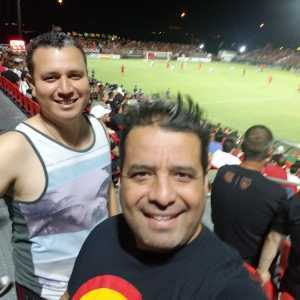 Avel attended Phoenix Rising vs. El Paso Locomotive - USL on Aug 10th 2019 via VetTix