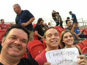 Attila attended Phoenix Rising vs. El Paso Locomotive - USL on Aug 10th 2019 via VetTix