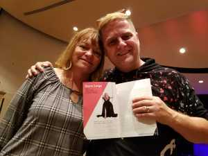 Brian attended Storm Large - Late Show - * See Notes on Apr 26th 2019 via VetTix