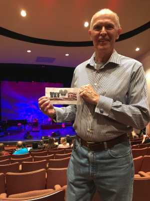 Jeff of Scottsdale attended Storm Large - Late Show - * See Notes on Apr 26th 2019 via VetTix