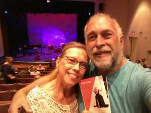 Bruce attended Storm Large - Late Show - * See Notes on Apr 26th 2019 via VetTix