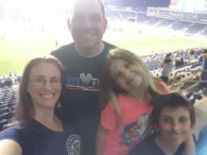 William attended Philadelphia Union vs New England Revolution - MLS on May 4th 2019 via VetTix