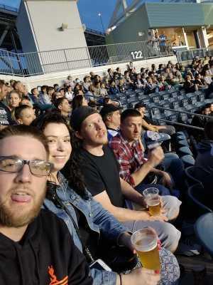 Matthew attended Philadelphia Union vs New England Revolution - MLS on May 4th 2019 via VetTix