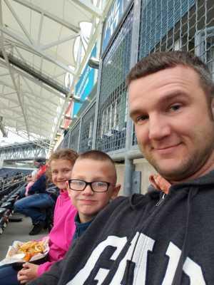 James attended Philadelphia Union vs New England Revolution - MLS on May 4th 2019 via VetTix
