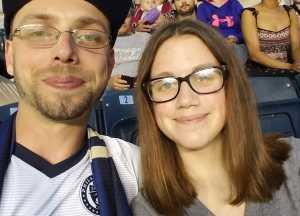 Tim attended Philadelphia Union vs New England Revolution - MLS on May 4th 2019 via VetTix