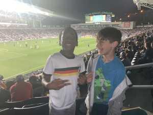 Destiny attended Philadelphia Union vs New England Revolution - MLS on May 4th 2019 via VetTix