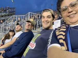 Erich attended Philadelphia Union vs New England Revolution - MLS on May 4th 2019 via VetTix