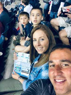 Jeff attended Philadelphia Union vs New England Revolution - MLS on May 4th 2019 via VetTix