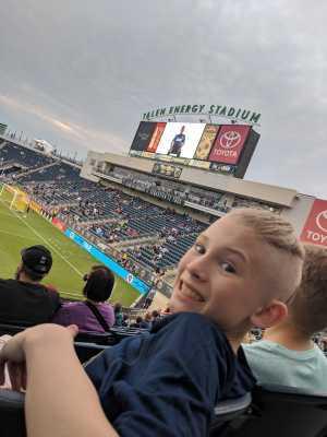Joshua attended Philadelphia Union vs New England Revolution - MLS on May 4th 2019 via VetTix