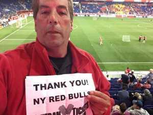 Joseph attended New York Red Bulls vs. Vancouver Whitecaps - MLS on May 22nd 2019 via VetTix