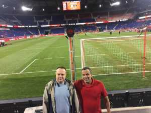 Frank attended New York Red Bulls vs. Vancouver Whitecaps - MLS on May 22nd 2019 via VetTix