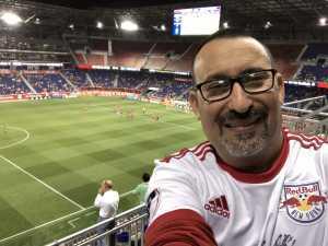 Marc attended New York Red Bulls vs. Vancouver Whitecaps - MLS on May 22nd 2019 via VetTix