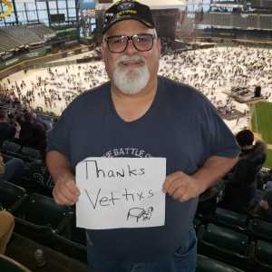 scott  attended Billy Joel - Pop on Apr 26th 2019 via VetTix