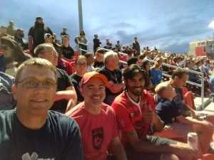 Marc attended Phoenix Rising FC vs. Rio Grande Valley FC - USL on May 10th 2019 via VetTix