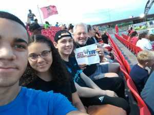 Michael attended Phoenix Rising FC vs. Rio Grande Valley FC - USL on May 10th 2019 via VetTix
