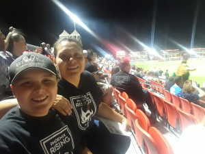 Sergio attended Phoenix Rising FC vs. Rio Grande Valley FC - USL on May 10th 2019 via VetTix