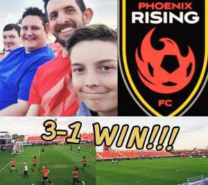 Rob attended Phoenix Rising FC vs. Rio Grande Valley FC - USL on May 10th 2019 via VetTix