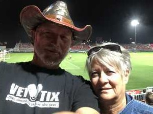 Donald attended Phoenix Rising FC vs. Rio Grande Valley FC - USL on May 10th 2019 via VetTix