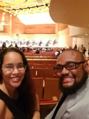 Demetrius attended Tchaikovsky Violin Concerto - Presented by the Baltimore Symphony Orchestra on May 11th 2019 via VetTix